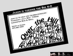 Free Printable Birthday Invitation Cards Free Printable 40th Birthday Invitations Cards