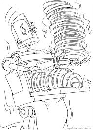robots coloring pages coloring pages kids disney coloring