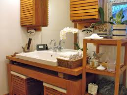 bright storage container shed in bathroom rustic with hanging