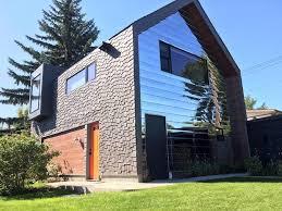 Skinny Edmonton homes flaunt bold design in a conservative