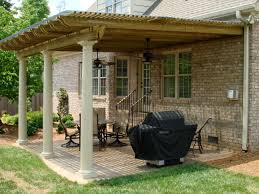 awning pergola owners added polycarbonite roof porches