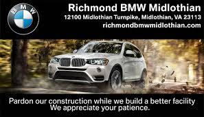 midlothian bmw richmond bmw midlothian bmw dealership in midlothian va 23113