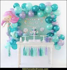 mermaid party supplies decorating theme bedrooms maries manor mermaid party