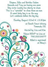 2nd baby shower baby shower sprinkle invitations cimvitation