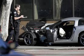 corvette car crash family of corvette driver killed on live tv gets 5 million from