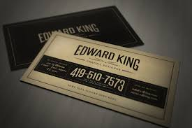 download vintage business card template
