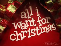 all i want for is