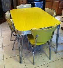 retro yellow kitchen table vintage kitchen table and chair set vintage kitchen kitchens and