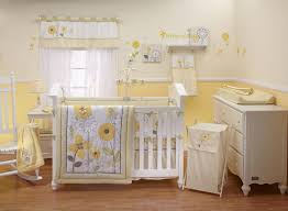 Light Blue And Yellow Bedroom Baby Nursery Ba Nursery Yellow Ba Room Decor Kids Light Blue