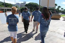 White Cane Blind Department Of Human Services White Cane Walks Raise Awareness