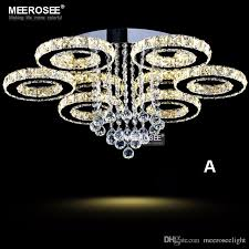 Chandeliers Modern Modern Led Chandelier Ring Circle Lustre Ceiling Light