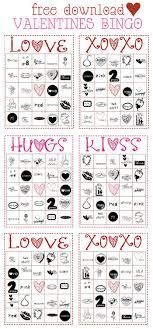 valentines bingo free valentines bingo cards