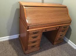 Roll Top Desk Oak Solid Oak Rolltop Desk In Hoobly Classifieds
