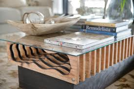 how to make a coffee table out of pallets diy hollowed wood coffee table how tos diy