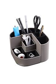 Magnetic Desk Organizer Vpack F04 Magnetic Pen Holder Durable Pu Desk