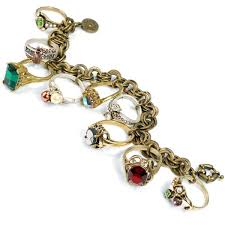 antique jewelry bracelet images Shop sweet romance antique rings vintage charm bracelet free jpg