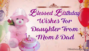 lovely birthday wishes and blessings for from and
