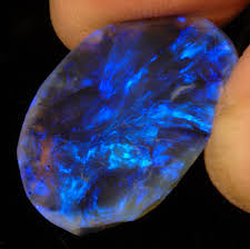 real blue opal hand held lightning ridge black opal lightning ridge black opal