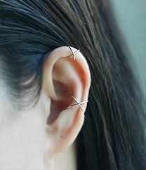 where to buy cartilage earrings 20gauge criss cross x ear cuff cartilage earring