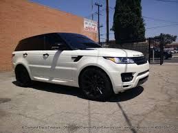 range rover sport white 2017 2014 range rover sport wrapped in satin pearl white by dbx