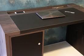 Schreibtisch Dunkelbraun Möbel Holz Specht De