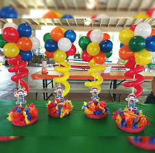 party centerpieces the 25 best carnival centerpieces ideas on circus