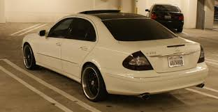 mercedes e class forums my 2008 mercedes w211 e350 smoked lights grill 20 inch