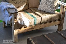 patio furniture with pallets a cool pallet wood chair anyone can make in a of hours