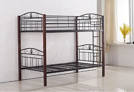 Timber Bunk Bed P1025b Metal Timber King Single Bunk Bed Sydney Central Furniture