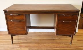 Mid Century Modern Desk Mid Century Modern Executive Desk Picked Vintage