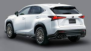 lexus hatchback 2018 2018 lexus nx f sport body kit from trd japan auto moto japan