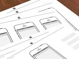 iphone sketch template free iphone mockup and ux design