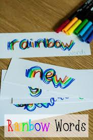 best 25 rainbow writing ideas on pinterest hard spelling words