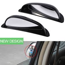 lexus is300 rear view mirror pair universal car black shell wide angle auxiliary rear view