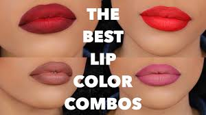 my top favorite lip color combos youtube