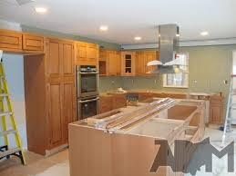 how to install a kitchen island installing kitchen island cabinets