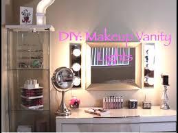 plug in vanity light strip diy hollywood vanity lights youtube
