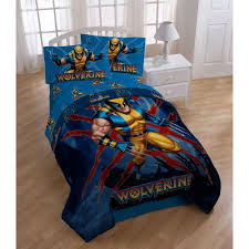 Marvel Double Duvet Cover Marvel X Men Wolverine Bedding Sheet Set Twin Walmart Com