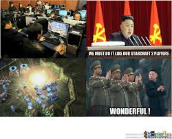 Starcraft 2 Meme - north korea and starcraft 2 by qpmarcel meme center