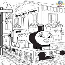 free printable railway pictures thomas scenery drawing