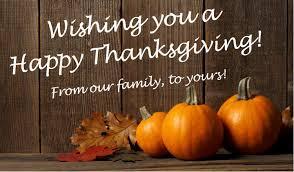 wishing you a happy thanksgiving insure rite a norman g olson company if it u0027s insurance we do it