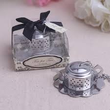 tea favors 20pcs lot tea tea strainer wedding souvenirs wedding favors