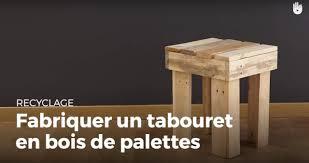 Faire Un Meuble Tv En Palette by Fabriquer Un Tabouret 4 Pieds En Bois De Palette Recycler Youtube
