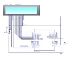 Simple Schematic Electric Cycle Counter Frequency Counter Circuit Using Micro Controller
