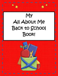 little miss middle back to all about me mini book