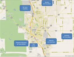 Fort Carson Map Colorado Springs New Economic Diversity Colorado Springs