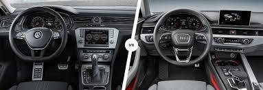 volkswagen passat 2016 interior volkswagen passat alltrack vs audi a4 allroad carwow
