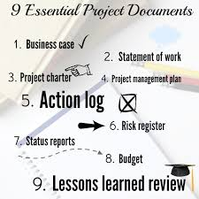 9 essential project documents with templates u2022 u0027s guide to