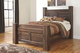 quinden queen poster bed ashley furniture homestore