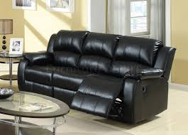 Black Leather Sofa Recliner Black Leather Reclining Sofas Home And Textiles